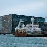 Bag skibet Reykjaviks Operahus