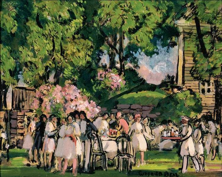 Gifford Beal - Picnic Party