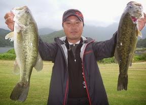 優勝 松林幸男プロ 5本 2,960g