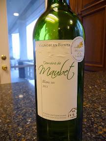 dry white French wine