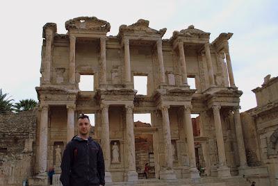 Biblioteca de Celsius, em Ephesus