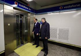 La estación de Sol será 100% accesible con la instalación de un nuevo ascensor