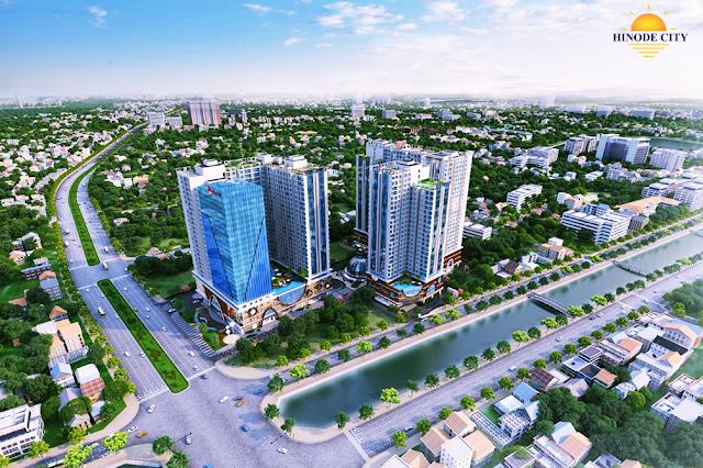Phối cảnh toà chung cư Hinode City