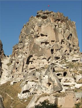 Fortaleza de Uçhisar - Capadocia