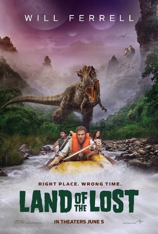 Poster Of Land of the Lost (2009) Full Movie Hindi Dubbed Free Download Watch Online At Alldownloads4u.Com