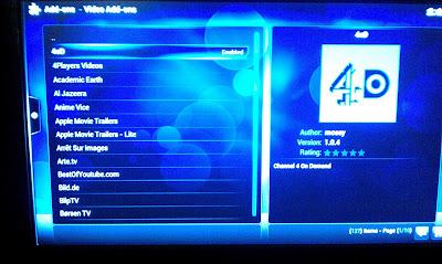 Catch up TV on Raspberry Pi Raspbmc – BBC iPlayer   djb31st co uk