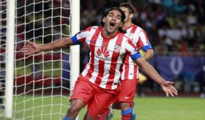 Goles Atletico Madrid coruna [6-1] Video Falcao 9 Dic