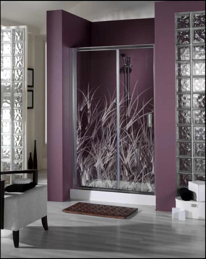 Ba o con ducha vinilos decorativos para mamparas de ducha - Vinilos mamparas bano ...