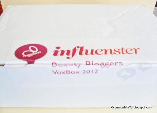 Beauty Box: Influenster Beauty Blogger VoxBox 2012