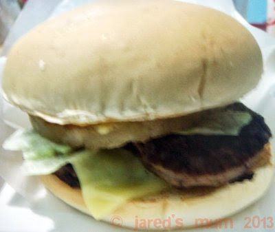 food musings, Jollibee, burgers
