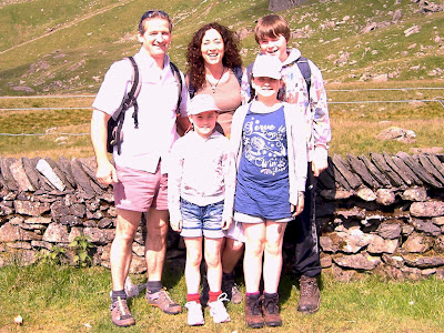 Carl, Mandy, Niamh & Molly Scrivens & Bradley Martin