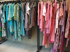a rainbow of beautiful clothes