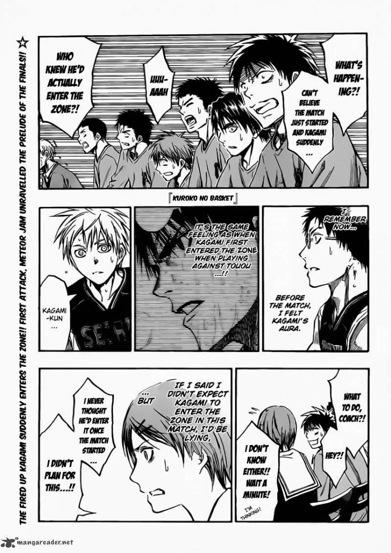 Kuroko no Basket Manga Chapter 233 - Image 12