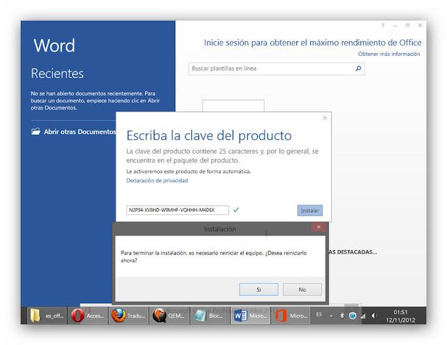 4 Office Professional Plus 2013 VL [Activador] [x86 x64 Bits] [Español] [1 Link]