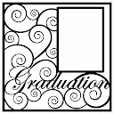 Graduation Scrapbooking Die Cut Overlay