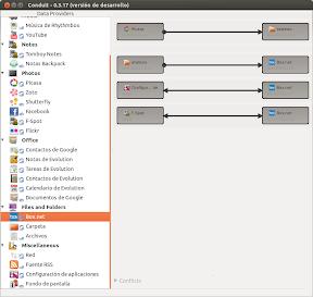 Sincronizando con Conduit en Ubuntu