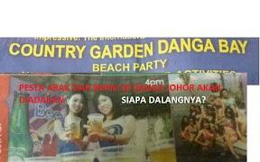 Pesta Bikini Dan Arak Di Danga Bay Johor?