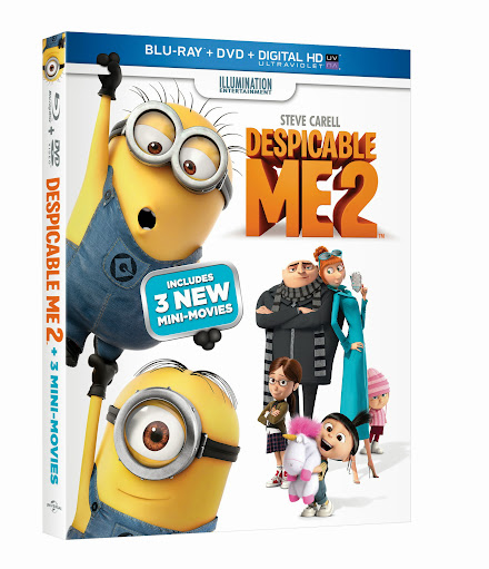Despicable Me 2 DVD and Blu-ray Combo Pack