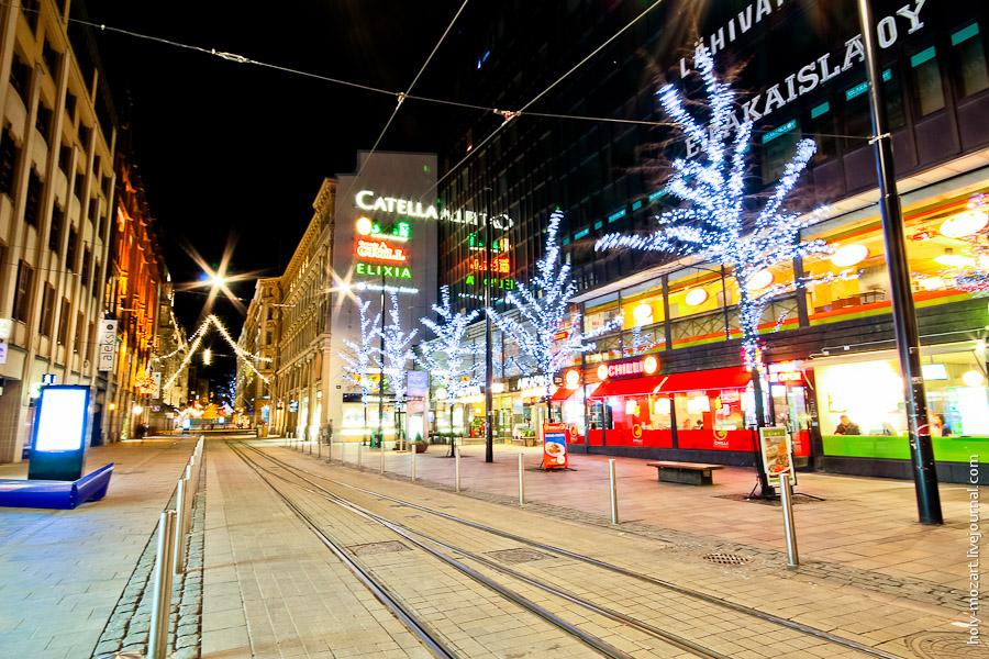 Ночной Хельсинки