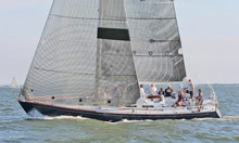 J/44 sailing Harvest Moon Regatta