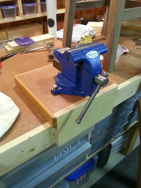 Workbench Vise And Mount Bushwoodworking Com