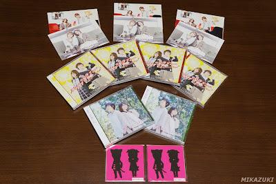 『あゆごま82Cafe』イベントで購入したCDを並べてみた