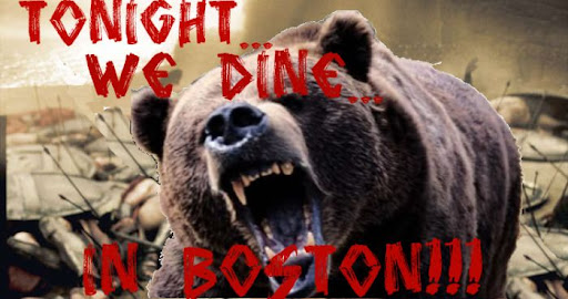 Tonight we dine in Boston