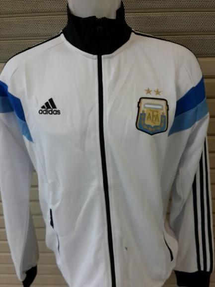 Jual Jaket Argentina Putih Terbaru 2014