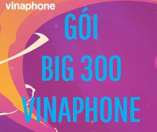 Nhận 36 GB Data 3G/4G tốc độ cao Gói BIG300 Vinaphone