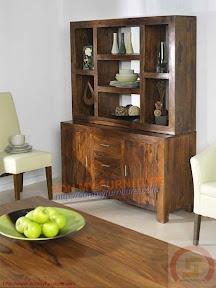 Tủ trưng bày gỗ 018