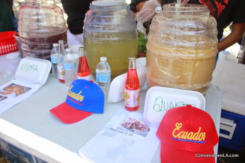 Bebida del Ecuador