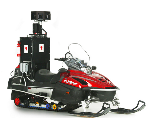 Street View Snowmobile