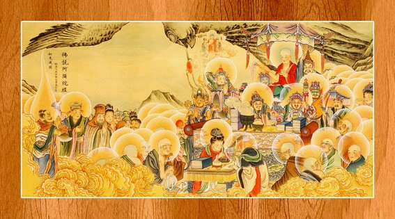 Bộ ảnh đẹp minh họa bản Kinh A Di Đà 1