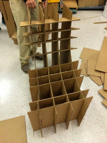 i created a cardboard chair without using any glue we made design slits in the to make it work four cutouts of and no glue w5 design