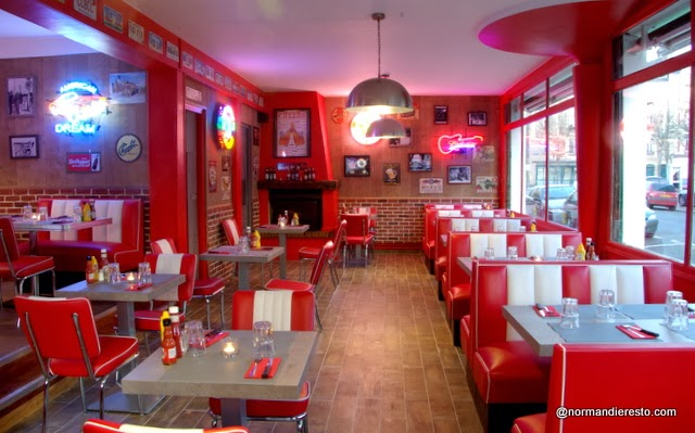 le fiftys american diner au havre
