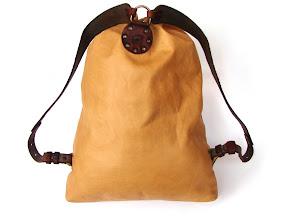 кожаный рюкзак ручной работы art № 130