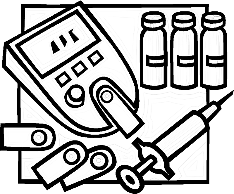 Diabetes coloring pages