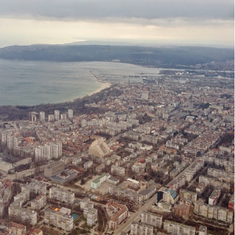 Picture of Varna from the air.