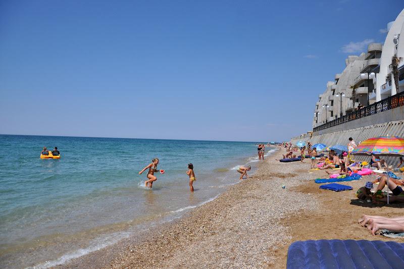 Качинский пляж в Крыму