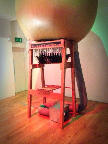 the Big Bottle Organ by artist Dan Knight