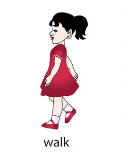 walk%2520 %2520flashcard Verb flashcard