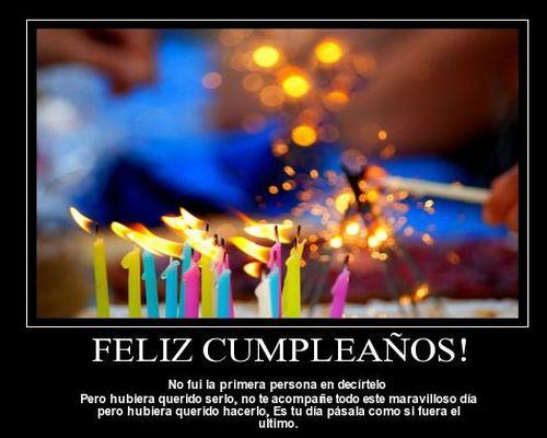 Saludos de cumpleaños para compartir en facebook