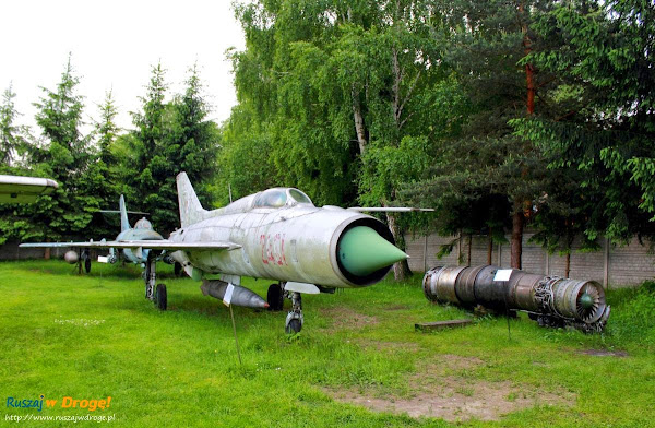 samoloty w muzeum im. Orła Białego