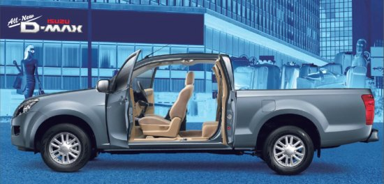 All New Isuzu D-MAX 2012 รุ่น Space Cab