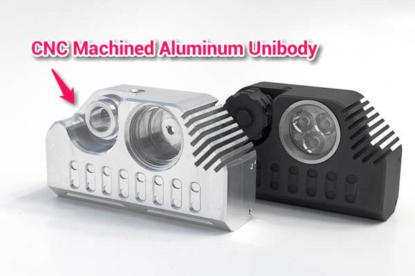 aluminum unibody