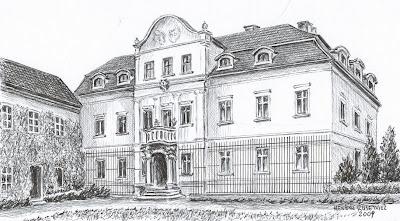 Pałac w Wielowsi – stan przed 1945 r.