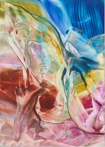Rainbow Color Art by Sandra Illing - Original Encaustic Painting