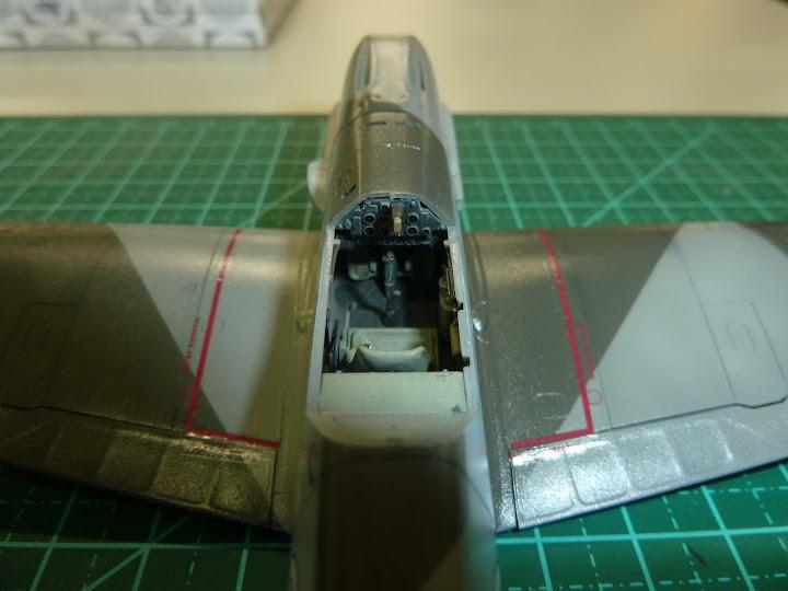 Bf-109 E-3 Tamiya 1/48 - Reforma pintura P1020500