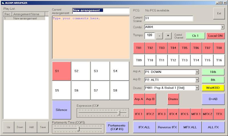 Korg Forums :: View topic - Aldan III LIVE Controls