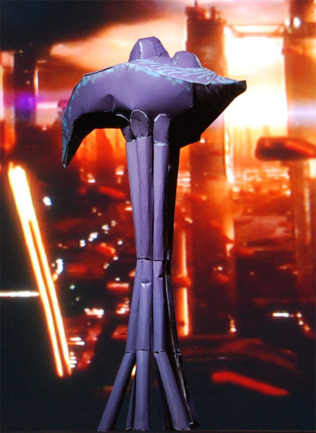 Mass Effect 2 Blasto Papercraft